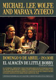 Michael Lee Wolfe en Little Bobby Santander
