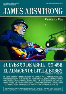 James Armstrong en el Little Bobby
