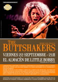 The Buttshakers en el Almacén de Little Bobby