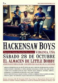 Hackensaw Boys en Little Bobby, Santander