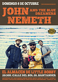 John nemeth and the blue dreamers en Little Bobby