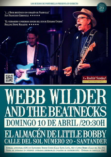 Webb Wilder and the Beatnecks en el Almacén