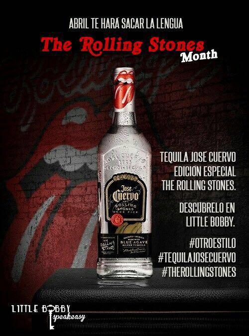 tequila jose cuervo edición especial rolling stones