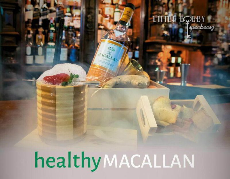 The excellence project con healthy macallan