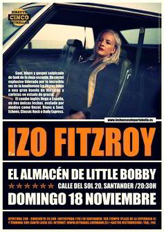 Izo Fitzroy en Santander
