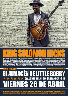 King Solomon Hicks en Santander