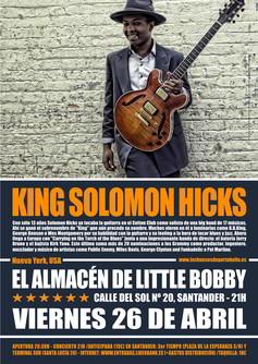 King Solomon Hicks en Santander