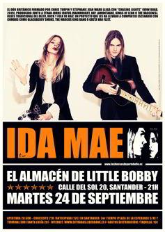 Ida Mae en Santander
