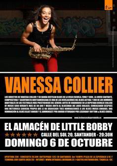 Vanessa Collier en Santander