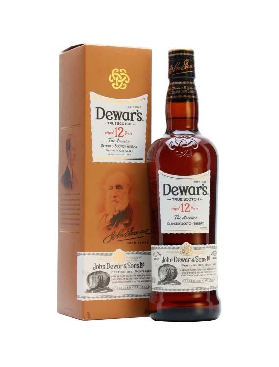 whisky dewars 12